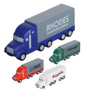 promotional semi truck stress reliever