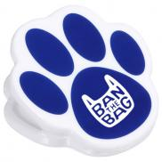 promotional pet paw power clip