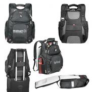 promotional elleven™ amped tsa 17 computer backpack