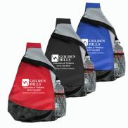 promotional mustang sling backpack
