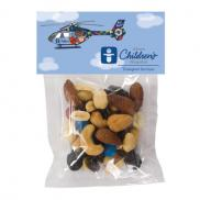 promotional large labeled treat bag