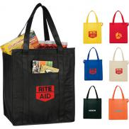 promotional hercules insulated grocery tote