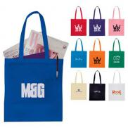 promotional zeus non-woven convention tote