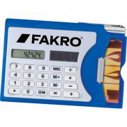promotional calculator and business card holder