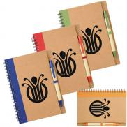 promotional the eco spiral notebook & pen