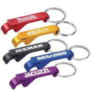 promotional bottle/can opener key ring