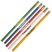 promotional jobee recycled newspaper pencils