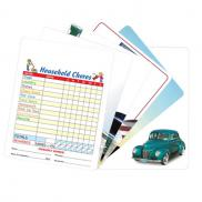 promotional memo board with magnet
