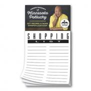 promotional shopping list magnet