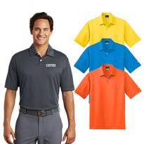19624 - Nike Golf Men's Dri-fit Pebble Texture Polo