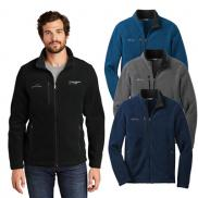 promotional eddie bauer® - full-zip fleece jacket