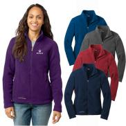 promotional eddie bauer® - ladies full-zip fleece jacket