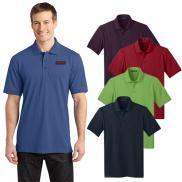 promotional port authority® stretch pique polo