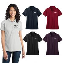 19646 - Port Authority® Ladies Stretch Pique Polo