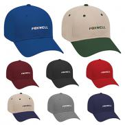 promotional brushed cotton twill low profile baseball cap