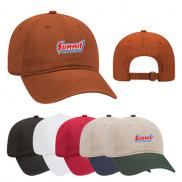 promotional low profile garment washed superior cotton twill cap