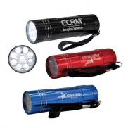 promotional novenary led flashlight