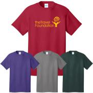 promotional port & company® - core cotton tee (color)
