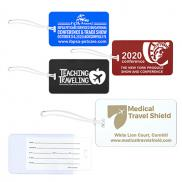 promotional slip-in pocket luggage tag