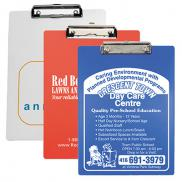 promotional letter size clipboard with metal clip