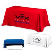 promotional 3-sided economy 6 ft table covers