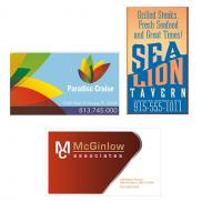 promotional business card magnet full color