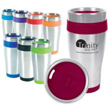 promotional 16 oz. blue monday travel tumbler