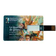 promotional credit card size usb 8gb