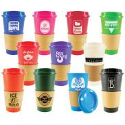 promotional sip n style stackable tumbler