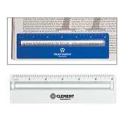promotional plastic ruler with magnifier