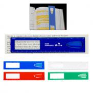 promotional magnifying ruler with bookmark