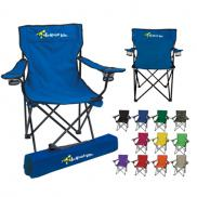 promotional folding chair with carrying case