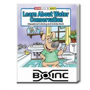 promotional water conservation coloring book