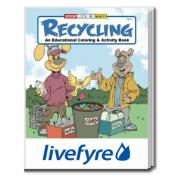 promotional recycling coloring book