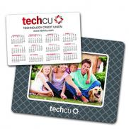 promotional picture frame with calendar magnet