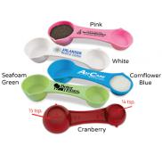 promotional multi-use measuring spoon