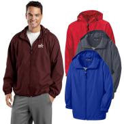promotional sport-tek® hooded raglan jacket