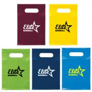 promotional small die cut handle bag