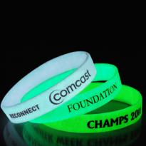 21416 - Glow in the Dark Wristband 1/2""