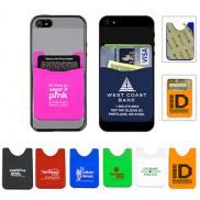 promotional silicone cell phone wallet