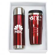promotional stainless steel tumbler & thermos set