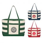 promotional cotton canvas nautical tote