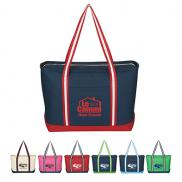 promotional large cotton admiral tote
