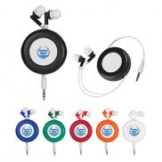 promotional retractable ear buds