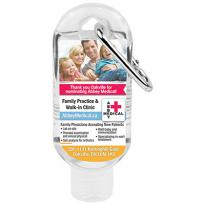 21908 - 1.8 oz Hand Sanitizer with Carabiner