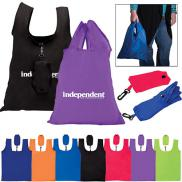 promotional folding grocery tote