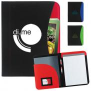 promotional non-woven curve padfolio