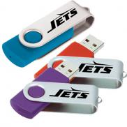 promotional rotate flash drive 1gb
