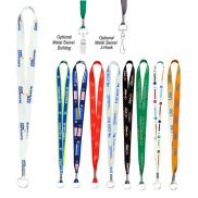 promotional 36 full color smooth lanyard