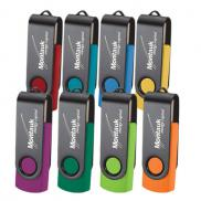 promotional rotate black clip 2gb drive